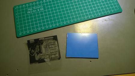 valotusmaski ja UV-suojalakattu FR4 piirilevy