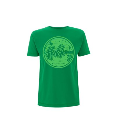Maui tee in kelly green