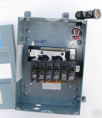 100 Amp Fuse In Breaker Box Homeline Load Center Hom6 12l100 Fuse Box W Photo 100a