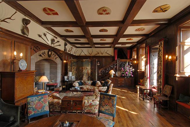 Interiors  HuttonintheForest