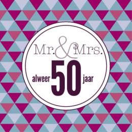 50 jaar getrouwd huwelijkswensen