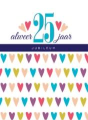 huwelijkswensen jubileum 25 jaar