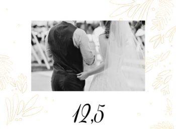 Huwelijkskaartje