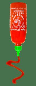 Sriracha Squirting