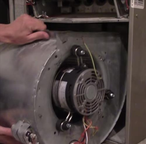 Hvac Capacitor Wiring Diagram Furnace Blower Motor Replacement Hvac How To