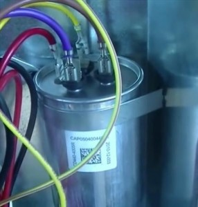 fan motor capacitor wiring diagram drayton rts1 room thermostat start and run explained hvac how to dual round