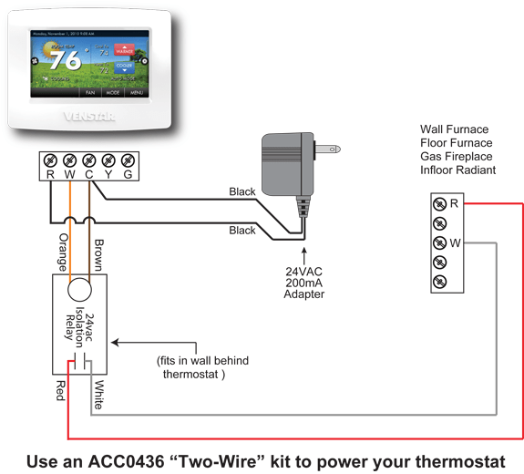 ACC0436 Wiring Diagram furnace wiring diagrams with thermostat wiring diagram for thermostat at virtualis.co
