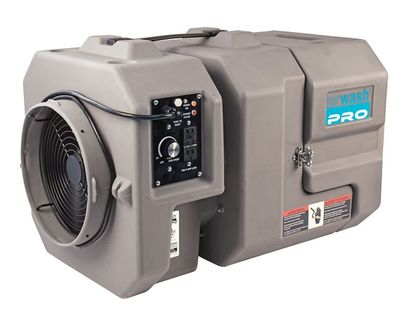 AirWash HEPA Air Filtration Solutions for Red Tide