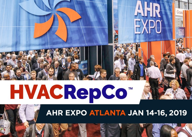 HVAC RepCo at AHR Expo