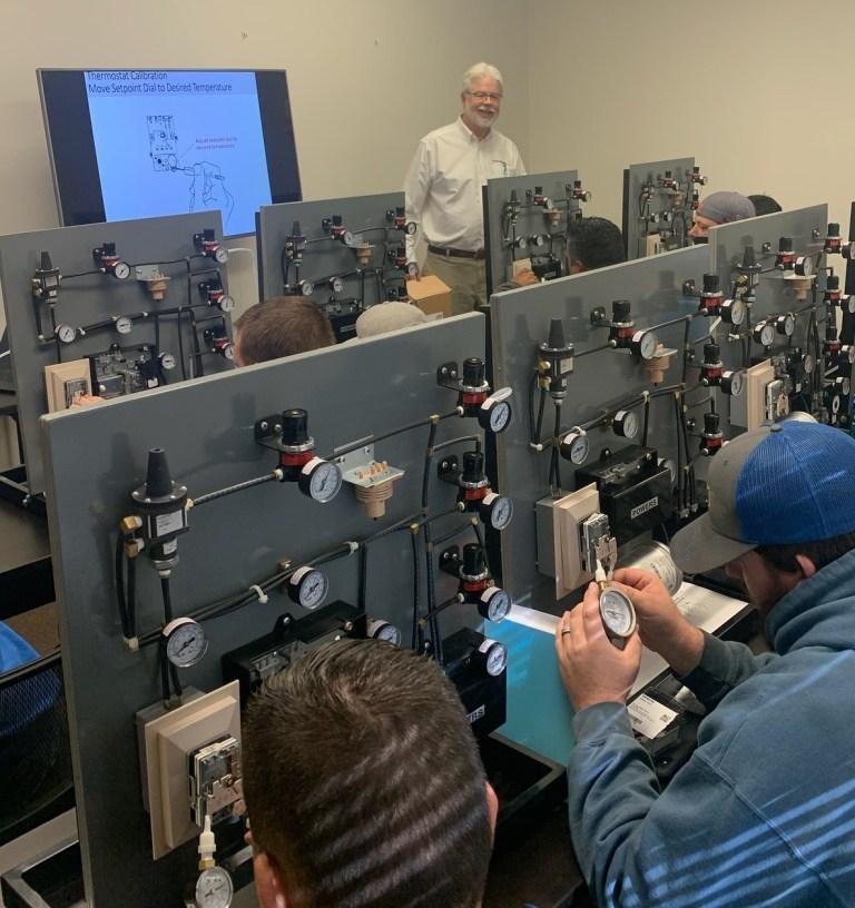 HVAC RepCo Pneumatics Training