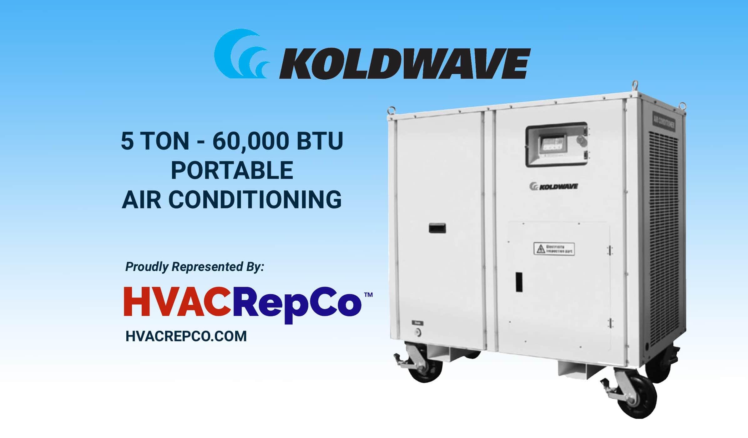 5 Ton Portable AC Unit from Koldwave