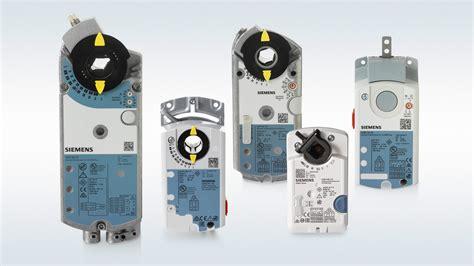 Openair Damper Actuators From Siemens   Hvac Repco
