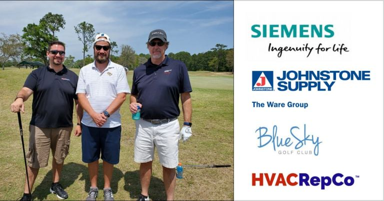 Siemens Golf Event with Johnstone Supply Ware Group