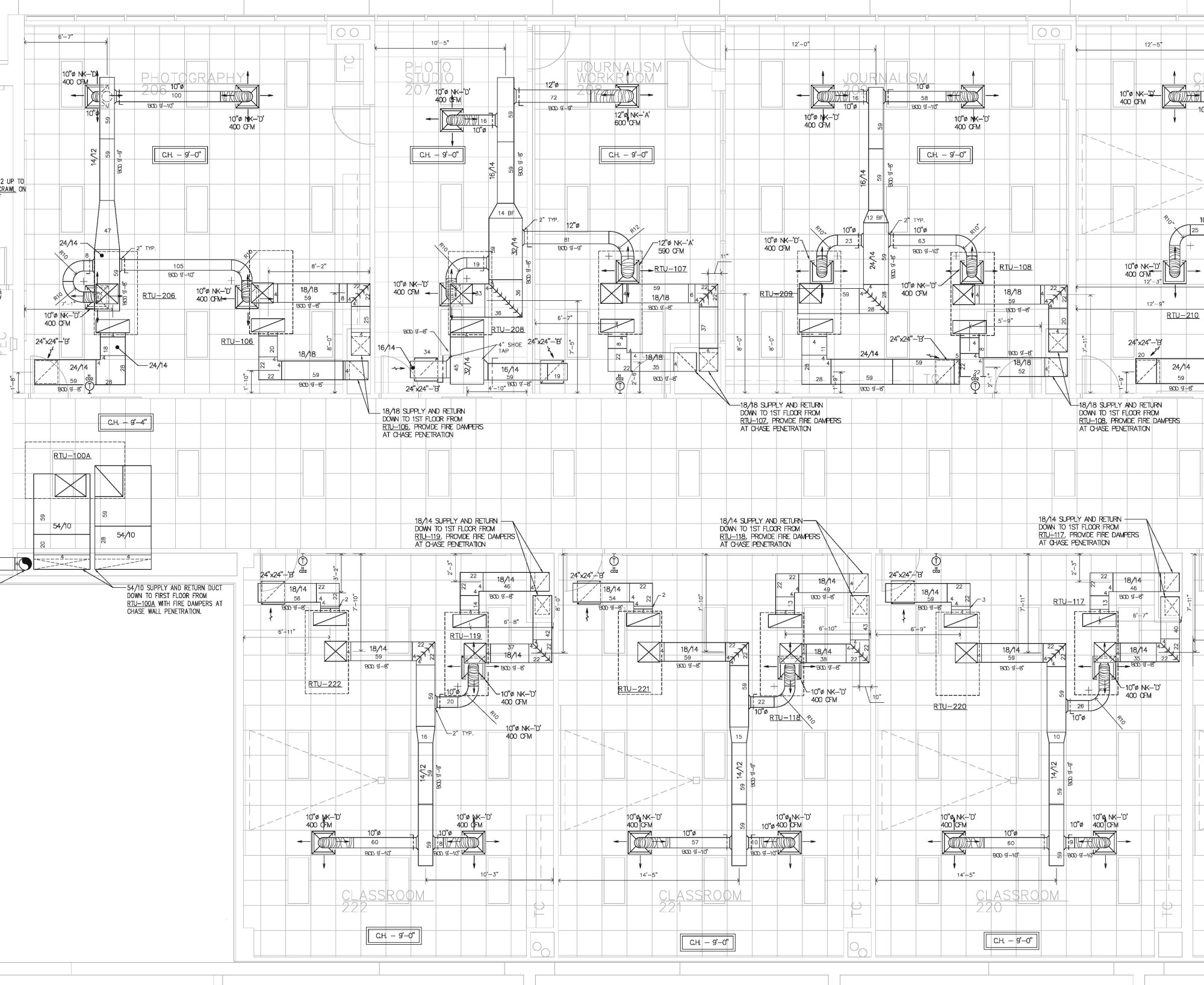 hight resolution of hvac shop drawings specialist
