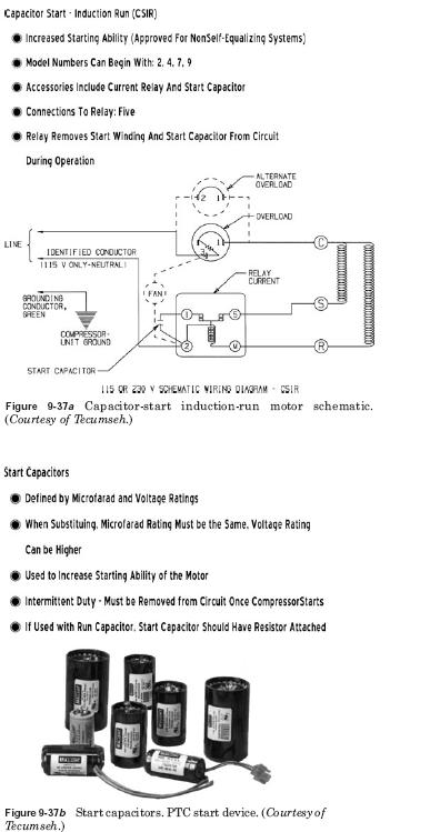 hermetic compressor wiring diagram fill in the blank animal cell motor types hvac troubleshooting
