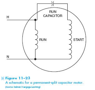 Capacitor Wire Diagram AC Dual Capacitor Wiring Diagram