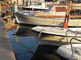 Vrboska boats