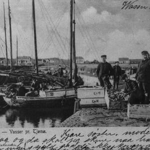 Fiskere i Krukehavn - Abrah. Haraldsen