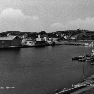 Makrellaget under bygging 1952