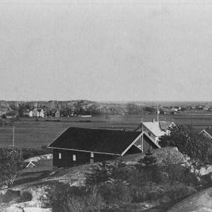 Utsyn fra Lie mot Sønstegård Carl Normann 1929