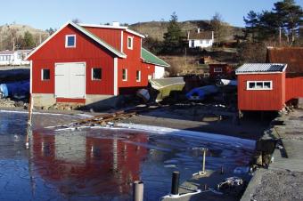 Jansens Båtbyggeri på Langestrand