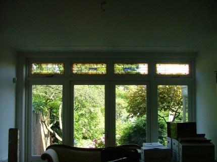 Achterkamer nieuwe ramen