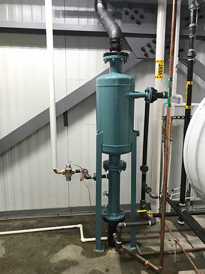 Boiler Room Equipment From HV Burton Company