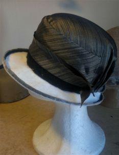 Creating hats on steel skeleton
