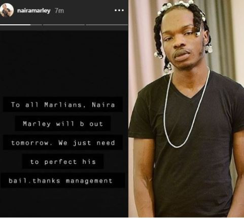 Naira Marley bail with conditions – Management