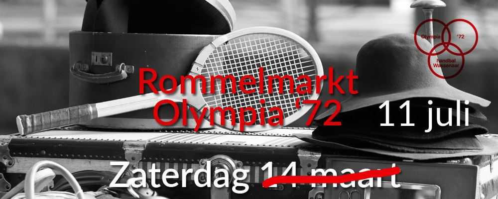 Rommelmarkt Olympia – Zaterdag 11 Juli