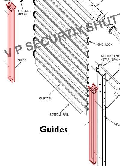 Diagram Of Garage Door Components Roller Shutter Anatomy Learn How Roller Shutters Work