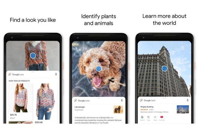 Risultato immagini per google foto app lens
