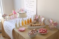 A Sweet First Birthday Party Dessert Table | Howerton ...