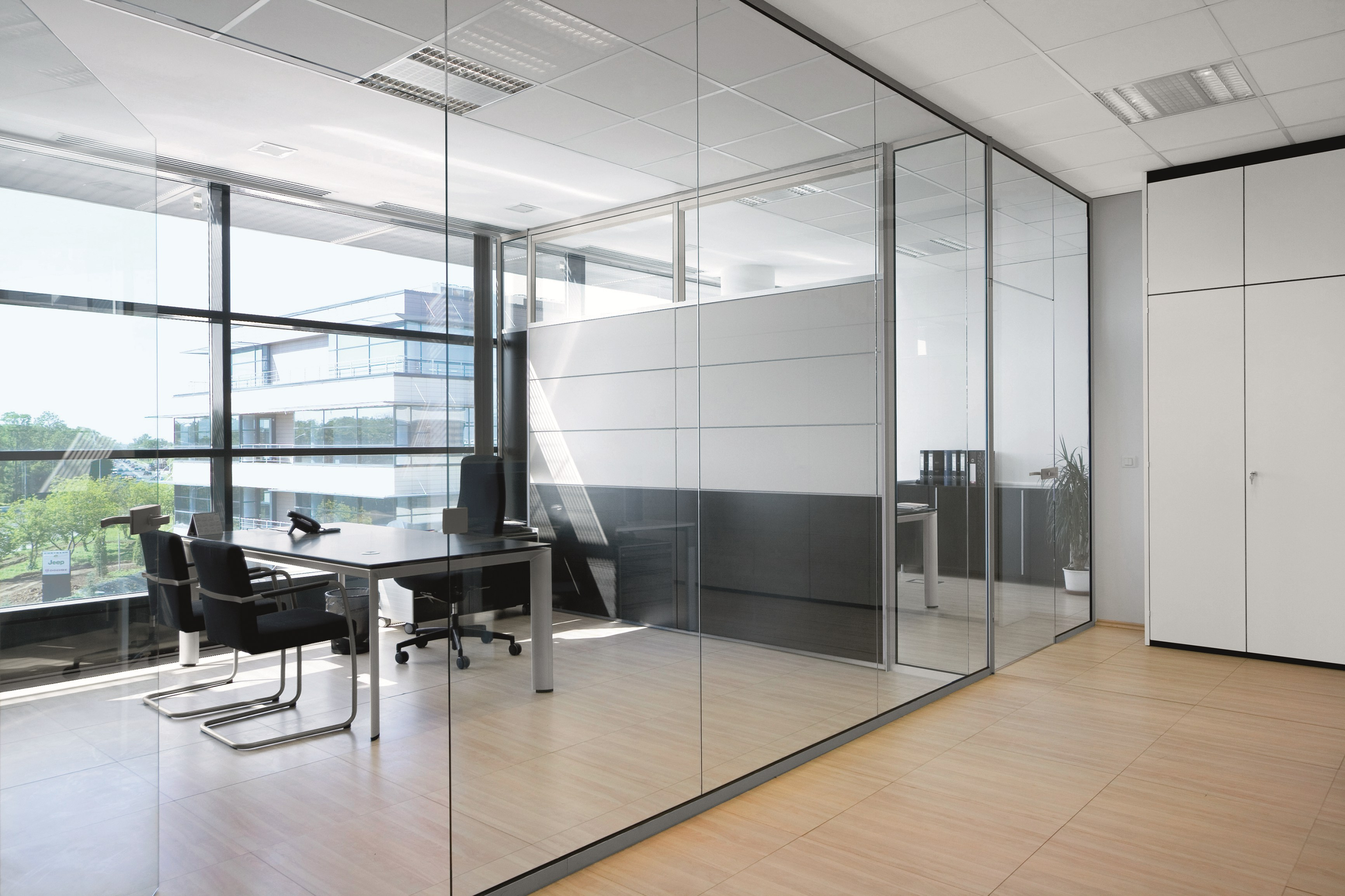 Why Glass Walls & Doors Are All the Rage in Office Remodels