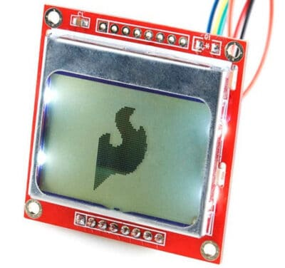 Pantalla Nokia 5110 LCD para Arduino