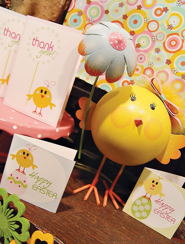 Little Chick Easter Party Theme