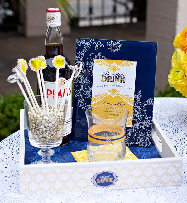 Royal Wedding Party Drink Ideas