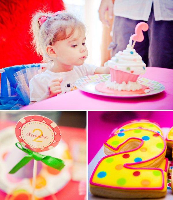 Girly Elmo Birthday Party