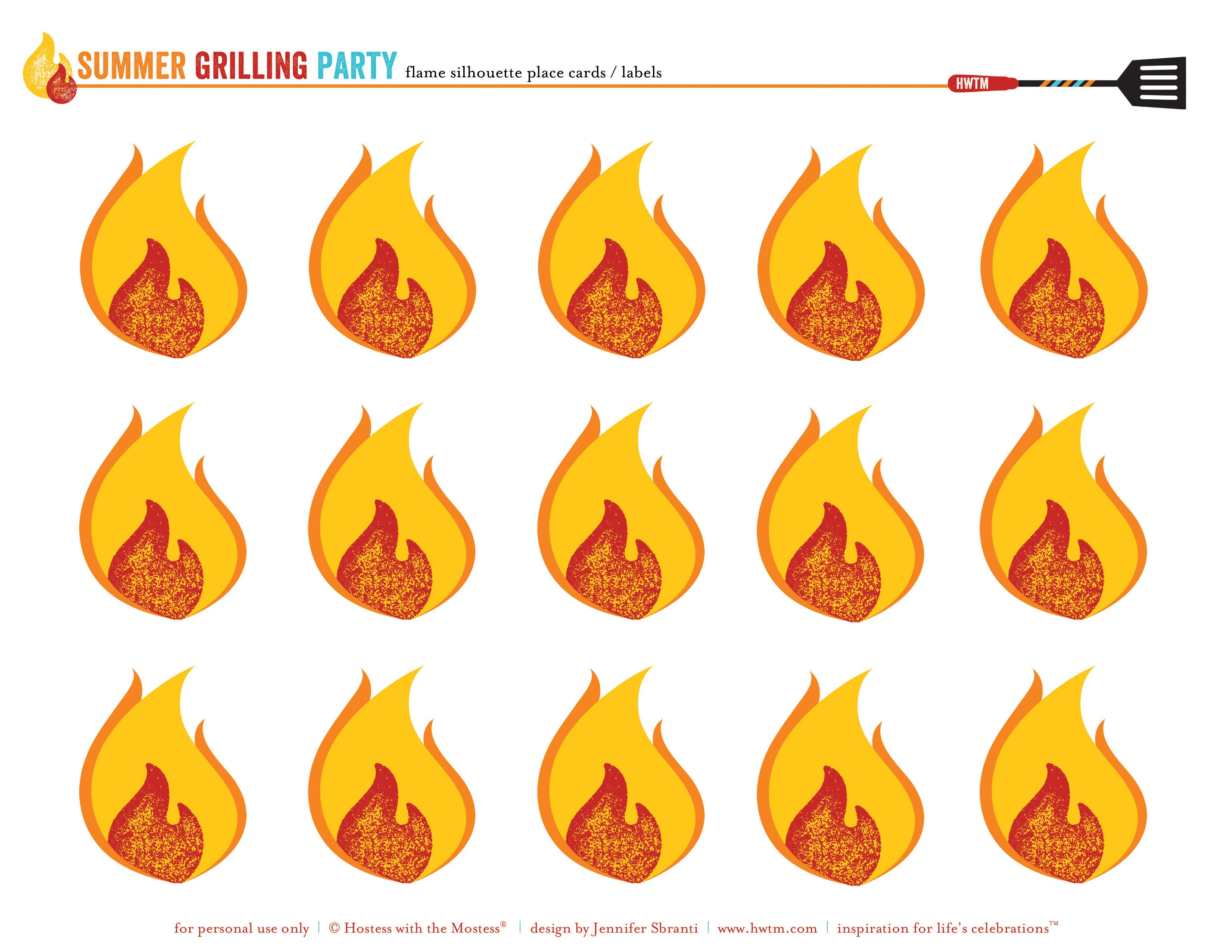 Free Printables Summer Grilling Party Or Bbq Party Hostess With The Mostess