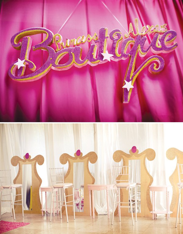 princess boutique for a beauty and the beast party