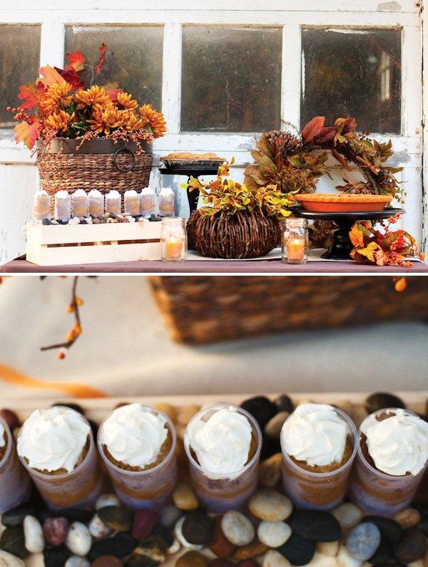 thanksgiving pumpkin pie desserts