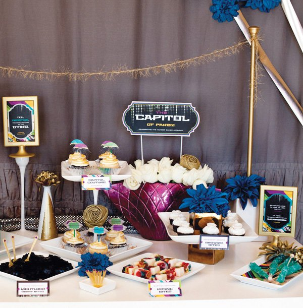 capitol inspired dessert table