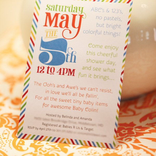 nyc invitation for a baby shower on cinco de mayo