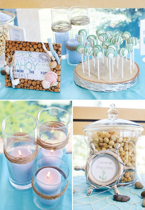 nautical candle decorations