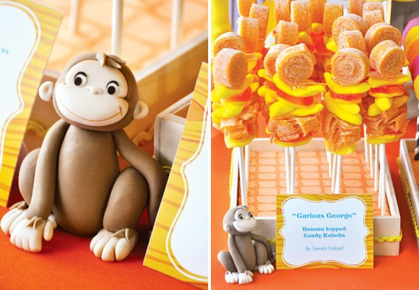 curious George candy kabobs