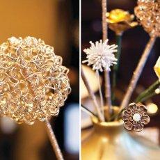 gold coil flower