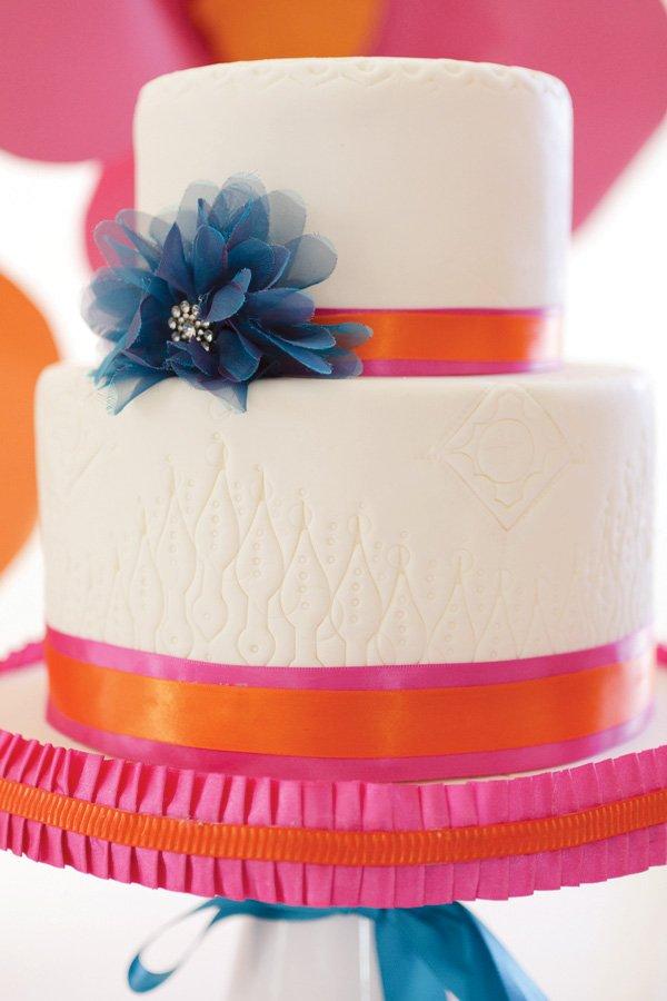 detailed fondant cake