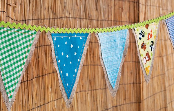 Neverland Inspired Fabric Bunting
