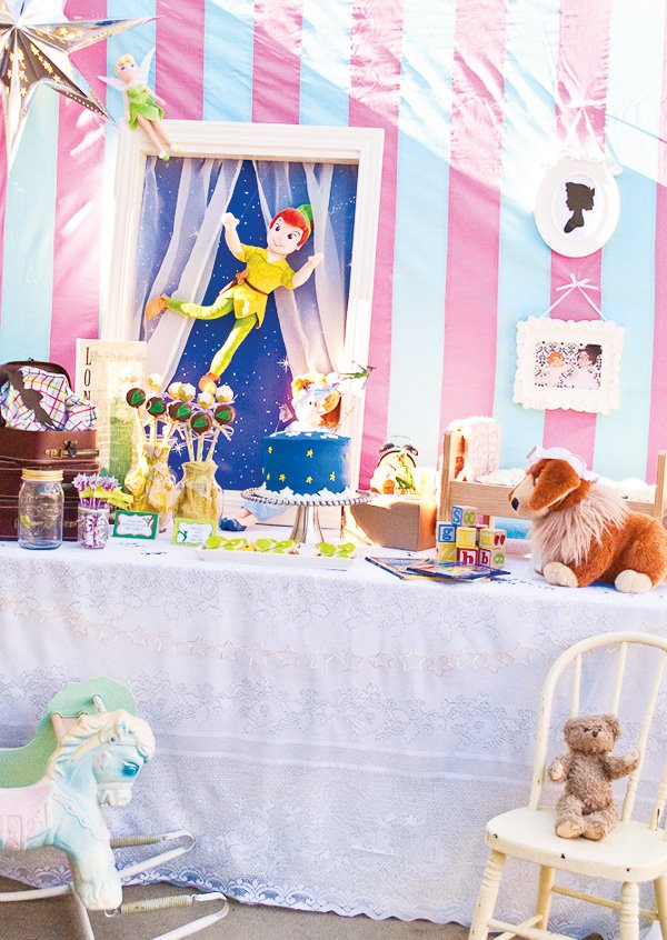 Peter Pan Dessert Table