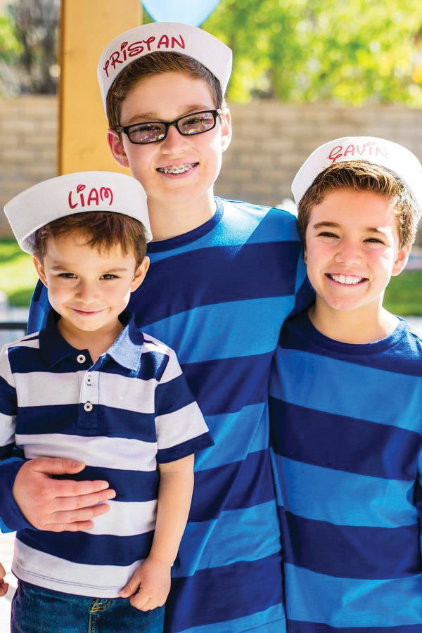 Micky Mouse sailor hats